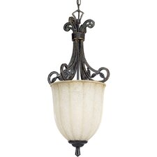 <strong>Progress Lighting</strong> Le Jardin 1 Light Foyer Pendant