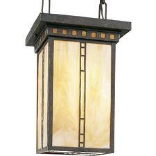 Arts and Crafts 3 Light Foyer Pendant