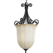 Le Jardin 3 Light Foyer Pendant