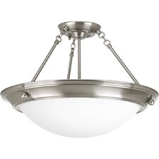 Eclipse 3 Light Semi-Flush Mount