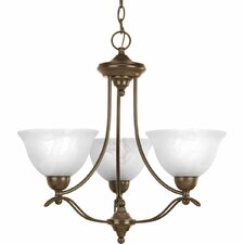 <strong>Progress Lighting</strong> Avalon 3 Light Mini Chandelier