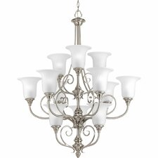<strong>Progress Lighting</strong> Kensington 12 Light Mini Chandelier