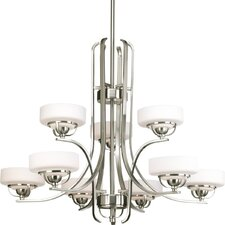 Torque 9 Light Mini Chandelier