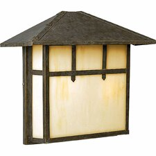 Mission 2 Light Outdoor Post Lantern
