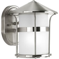 <strong>Progress Lighting</strong> Welcome 1 Light Outdoor Wall Lantern
