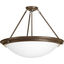 <strong>Progress Lighting</strong> Eclipse 4 Light Semi-Flush Mount