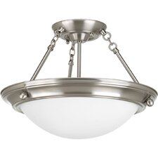 Eclipse 2 Light Semi-Flush Mount