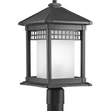 Merit 1 Light Outdoor Post Lantern