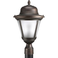 "Westport 1 Light 11"" Outdoor Post Lantern"