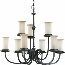 <strong>Progress Lighting</strong> Thomasville Santiago 9 Light Chandelier