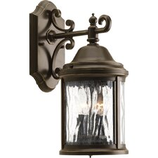 Ashmore 2 Light Outdoor Wall Lantern