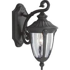 Meridian Cast Aluminum 1 Light Outdoor Wall Lantern
