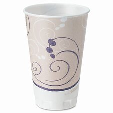 Company Symphony Design Trophy Foam Hot/Cold Drink Cups, 750 Cups/Carton