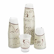 Company Symphony Design Trophy Foam Hot/Cold Drink Cups, 1500 Cups/Carton
