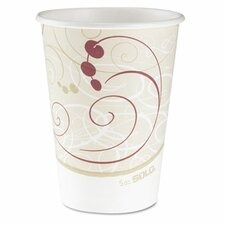 <strong>Solo Cups</strong> Company Symphony Design Hot Cups, 12 Oz., 50/Pack