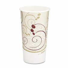 <strong>Solo Cups</strong> Company Symphony Design Hot Cups, 20 Oz.