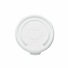 <strong>Solo Cups</strong> Company Liftback & Lock Tab Cup Lids For Foam Cups, 16 Oz, 1000/Carton
