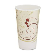 Company Symphony Design Hot Cups, 1000 Cups/Carton