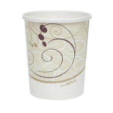 <strong>Solo Cups</strong> 32 Oz Flexstyle Double Poly Paper Containers Symphony Design