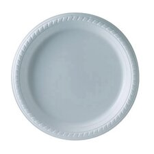Plastic Plate in White