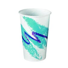 Jazz Waxed Paper Cold Cups Tide Design