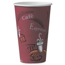 <strong>Solo Cups</strong> Company Bistro Design Hot Drink Cups, 16 Oz., 300/Carton