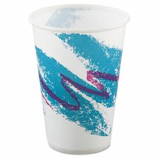 Jazz 10 oz. Waxed Paper Cold Cups (Set of 2000)