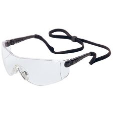 Op-Tema® Eyewear - op-tema black safety glasses clear hc lens