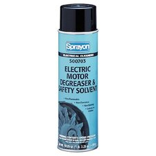 Electric Motor Safety Solvent & Degreasers - 20-oz. electric motor degreaser & safety so