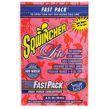 Fruit Punch 6 Ounce Fast Packs (50 Single Serving Drink Mix Packs Per Box) (Set of 4)