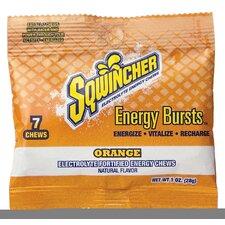 Orange Energy Bursts Chews (Set of 12)
