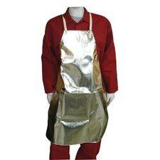 "Aluminized Fabric Aprons - 24""x36"" bib typealuminized rayon"
