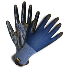Polyester Shell Gloves with Nitrile Coating