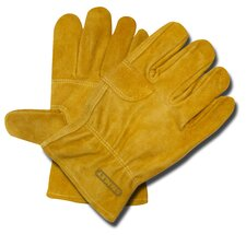 Split Cowhide Leather Double Palm Gloves