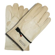 <strong>Stanley Tools</strong> Grain Cowhide Driver Gloves with Ball and Tape Adjustment