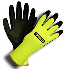 Thermal Brushed Acrylic Latex Palm Gloves