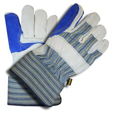 Select Shoulder Double Palm Rubberized Cuff Gloves