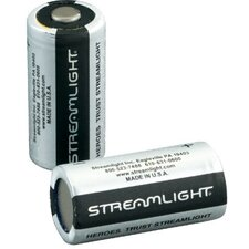 <strong>Streamlight</strong> Battery 2Pk Lithium Cr123 3V/Scorpion