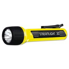 Propolymer Xenon Flashlight with Spring Loaded Clip