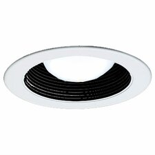 """Stepped Baffle 4"""" Recessed Kit"""