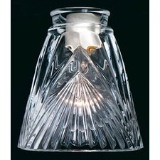 "5.13"" Glass Empire Pendant Shade"