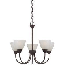Tia 5 Light Chandelier