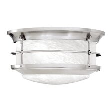 Newport 2 Light Outdoor Flush Mount