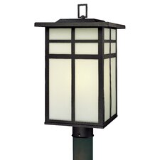 Mission 3 Light Outdoor Post Lantern