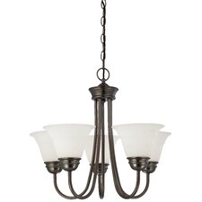 Bella 5 Light Chandelier