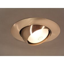 "8"" x 8"" Recessed Light in Brushed Nickel (Trim Only)"
