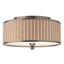 Haberdasher Flush Mount