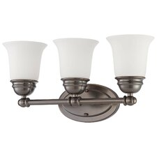Bella 3 Light Vanity Light