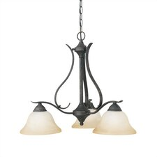 Prestige  3 Light Chandelier