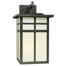 Mission 3 Light Outdoor Wall Lantern